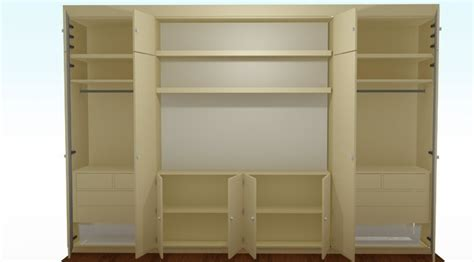 wardrobrs and shelves made to measure from mdf boards