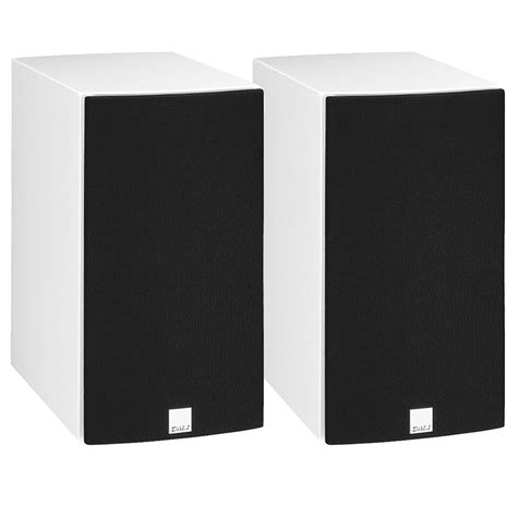 dali rubicon 2 gloss white bookshelf speakers pair