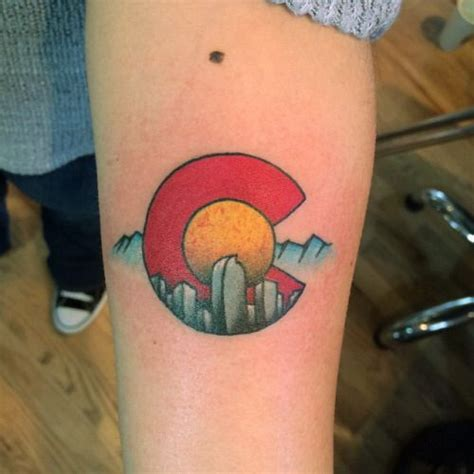 colorado tattoo 25 best colorado ideas on mountain
