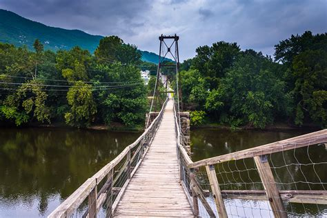 swinging bridge visit botetourt county and the buchanan swinging bridge