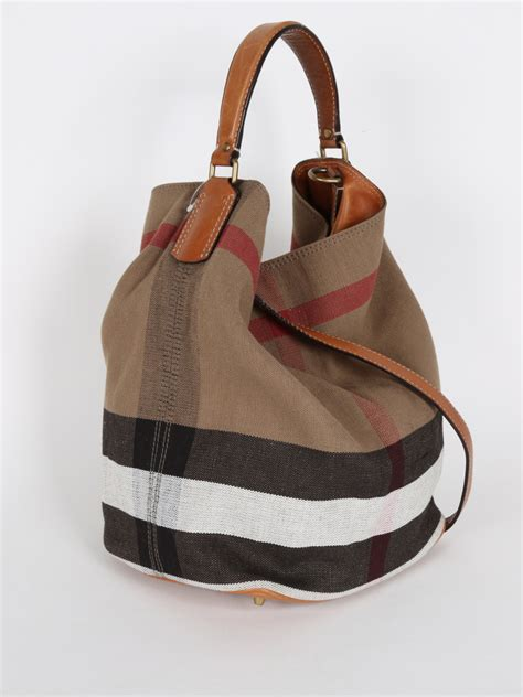 Burberry Bag burberry ashby canvas check shoulder bag luxury bags