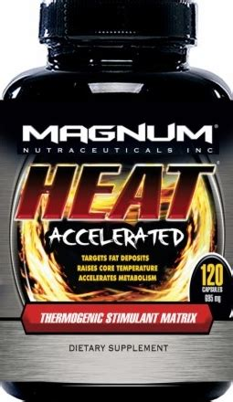 supplement heat magnum nutraceuticals heat 120 capsules
