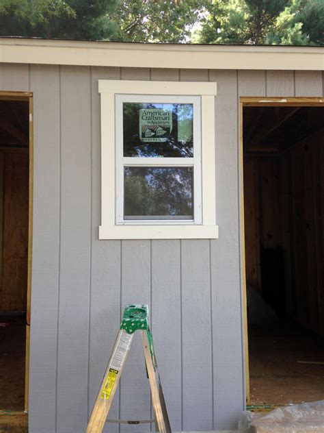 Shed Window Installation by How To Build A Shed From Scratch Easy Step By Step Tutorial For Diyers