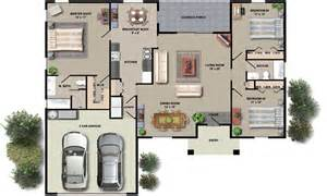 Small House Plans With Open Floor Plan by House Floor Plan Design Small House Plans With Open Floor