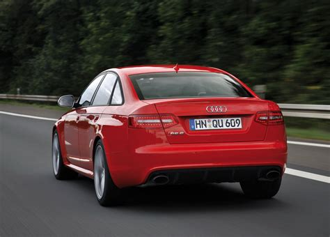 Audi Rs6 Rot by Audi Rs6 Rear View Car Pictures Images Gaddidekho