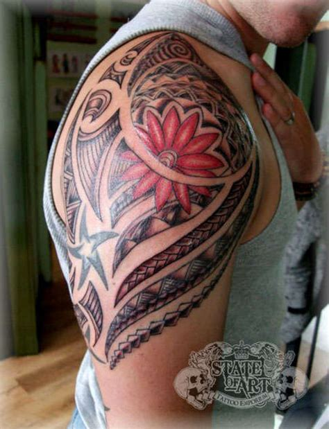 tattoo placement sleeve i really like the shape and placement on this one maori