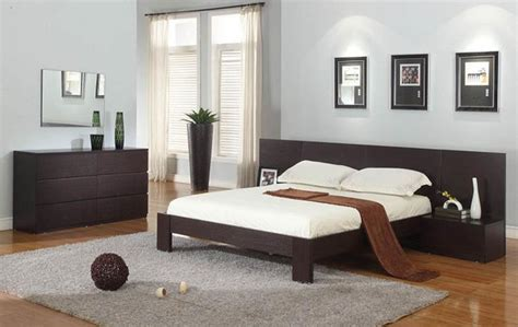 exquisite wood modern master bedroom set modern