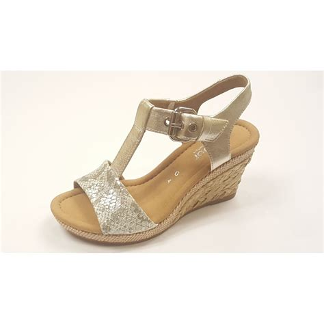 silver sandal 42 824 63 silver leather snake print wedge sandal