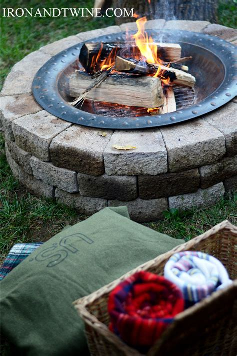 How To Build A Fire Pit How To Build A Firepit