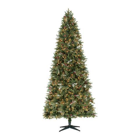 ge 9 ft pre lit led energy smart spruce artificial christmas tree ge 9 ft indoor pre lit led energy smart spruce artificial tree with color changing