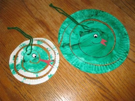 Paper Plate Snake Craft - 17 best images about circus animal crafts on