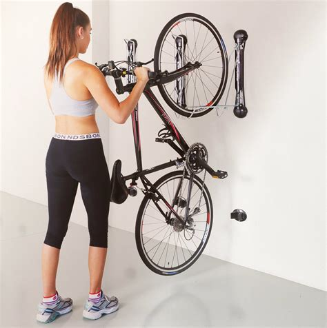 2 Car Garage Design Ideas compact vertical bike rack wall mount storeyourboard com