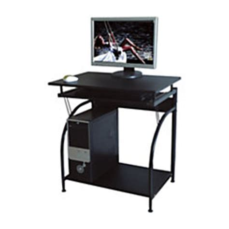 comfort products stanton computer desk black by office