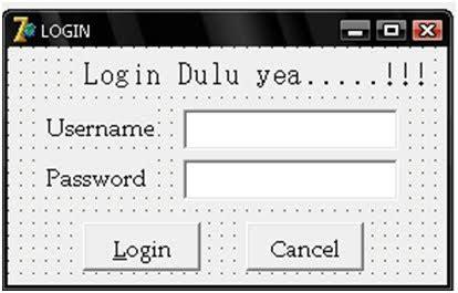 membuat form login delphi membuat form login menggunakan delphi belajar dan belajar