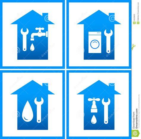 Design House Bath Hardware set of plumbing water icons stock photos image 29539823