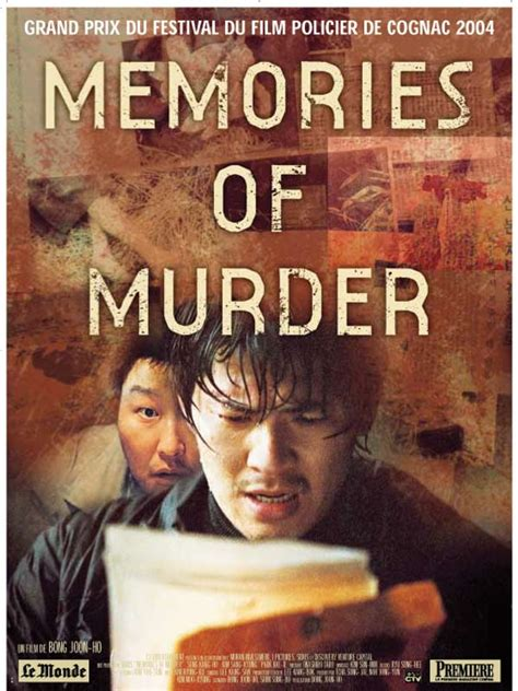 the murder of a the memories of a ten year books memories of murder 2003 allocin 233