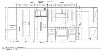 Kitchen Cabinet Elevation Drawings Mr Bell S Place Arch Homework And Assignments 2015 16