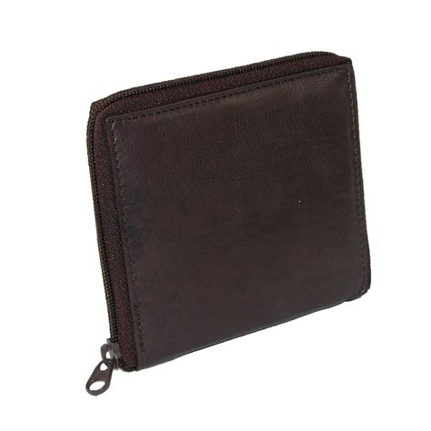 leather zip wallet mens leather zip around credit card wallet by paul zip around wallets