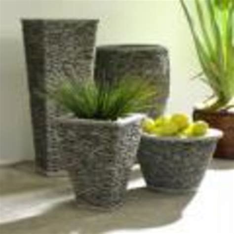 River Rock Planters by Design Journal Archinterious River Planters By