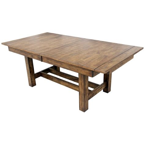 Rustic Extendable Dining Table A America Mariposa Extendable Butterfly Dining Table In Rustic Whiskey Mrprw6080