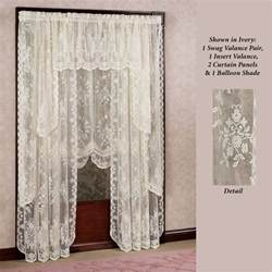 Lace Window Curtains Fiona Scottish Lace Window Treatment