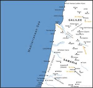 map of israel s northern coastal plain bible history