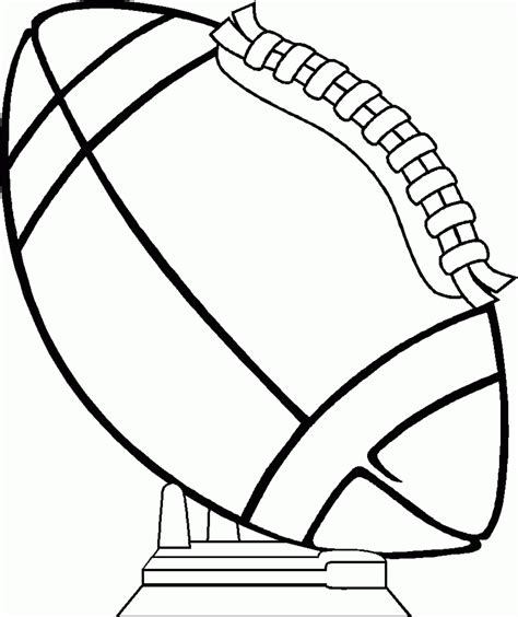 Football Coloring Pages Coloring Lab Printable Football Coloring Pages