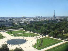 tuileries garden is now one of the places visited by many