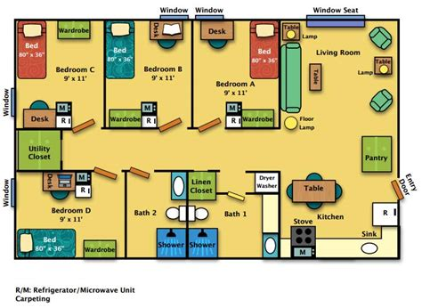 psu housing muncy house conestoga house and kettle house floor plan harrisburg housing
