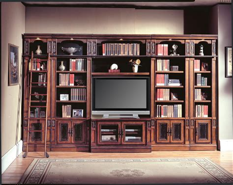 wall library parker house davinci library entertainment wall unit