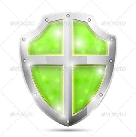 Magic Glossy White glossy magic green shield icon sourcecodes pro