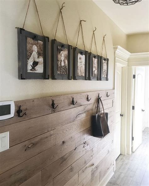 wall designs for hall 17 best ideas about rustic entryway on pinterest rustic