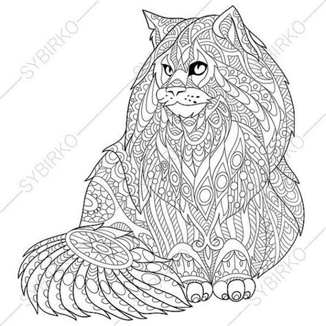 cat mandala coloring page 230 best images about zentangle mandalas etc on