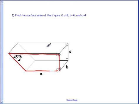 Area Of Trapezoidal Section by How To Draw Trapezoidal Prism