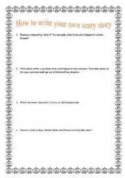 teaching worksheets tales and stories