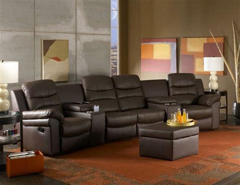 Reclining Theatre Seats by Home Theater Recliners Leather 171 House Plans Ideas