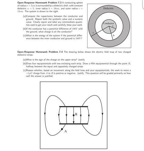 spherical capacitor when inner sphere is earthed spherical capacitor is formed from an inner conduc chegg