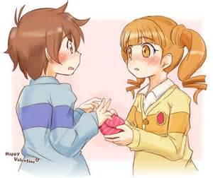 imagenes de amor y amistad en anime san valentin si no les gusta el amor y el anime no entre