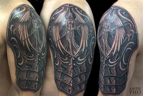 armor tattoo andy pho