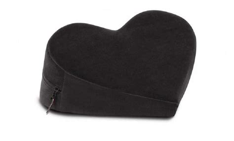 Librator Pillow by Liberator Wedge Positioning Pillow Black Other