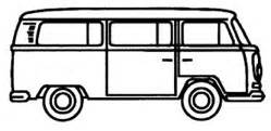 volkswagen minibus side view side view clipart panda free clipart images