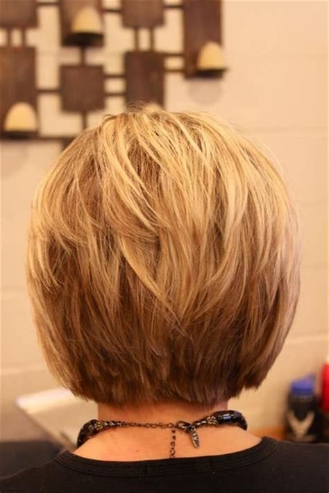 back of bob haircut pictures bob haircut back view via dark brown hairs