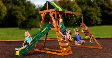 clearance swing sets walmart clearance possible outdoor cedar swing set only
