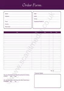 a5 order forms purple 2 part ncr qty 100 scanit media