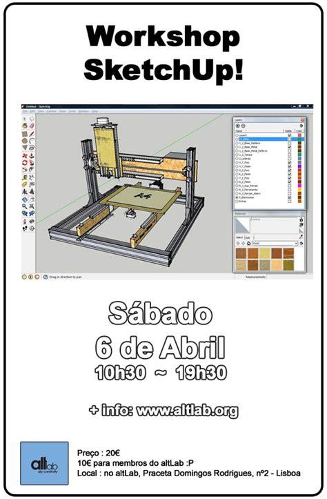 workshop layout in sketchup workshop sketchup altlab dit creativity