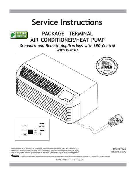 amana ac heat wiring diagram heat furnace