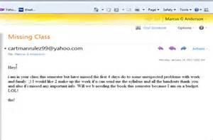 how to e mail a professor