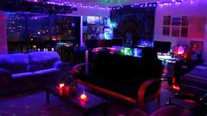 Black Light Bedroom Ideas Trippy Led Room