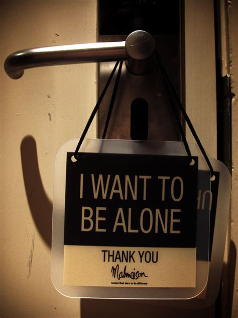 i want to be 28 01 08 i want to be alone photo dominic kite photos at