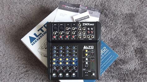 Mixer Alto Zmx 862 alto professional zmx862 image 642305 audiofanzine